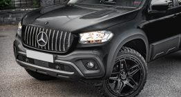 In the Kahn style. Mercedes-Benz X-Class is lost but not forgotten