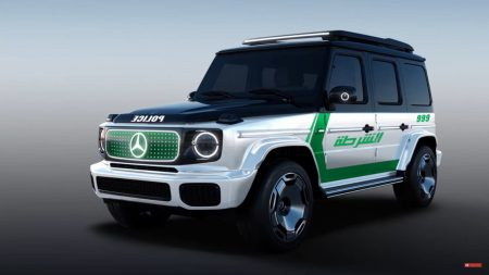 Mercedes EQG Dubai police (2)