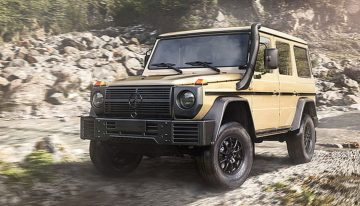 The new Mercedes G-Class W464 for military use