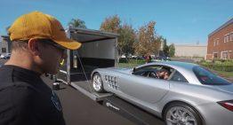 Manny Khoshbin buys yet another Mercedes-Benz SLR McLaren. It's his ninth