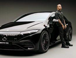When Lewis Hamilton met the new Mercedes-AMG EQS 53 4MATIC+